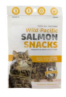 Pacific Snack 21 Salmon Snacks Cat