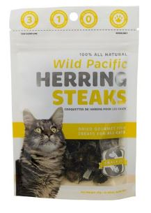 Pacific Snack 21 Herring Steaks Cat