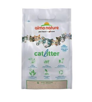Almo Nature Vegetable Fiber Cat Litter