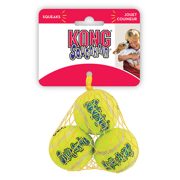 Kong Air Squeaker Tennis Ball