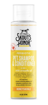 Skouts Honor Probiotic Shampoo & Conditioner