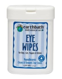 Earthbath Hypo Allergenic Eye Wipes