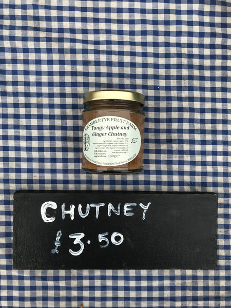 Apple & Ginger Chutney
