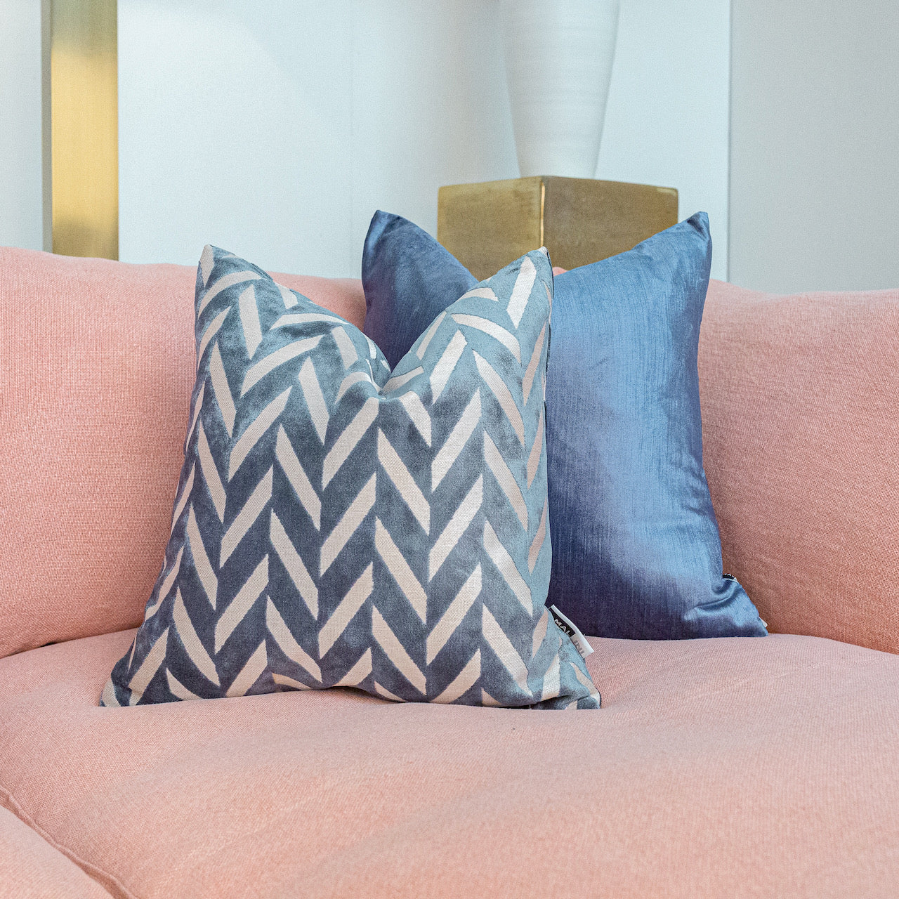 Jaz Cushion - Blue