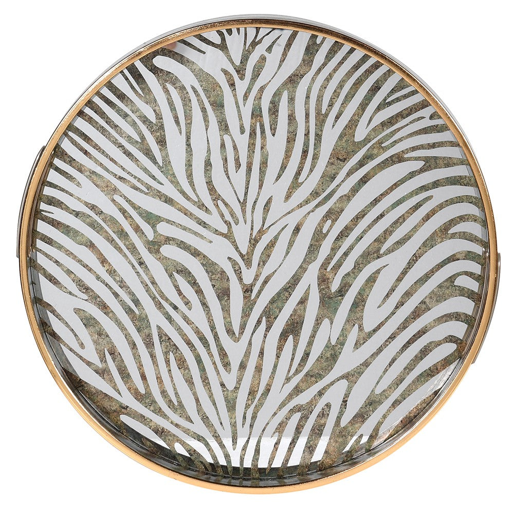 Zebra Pattern Tray