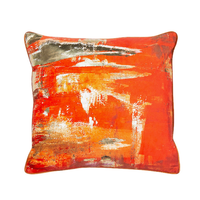 Sunshine Cushion - Brilliant Orange