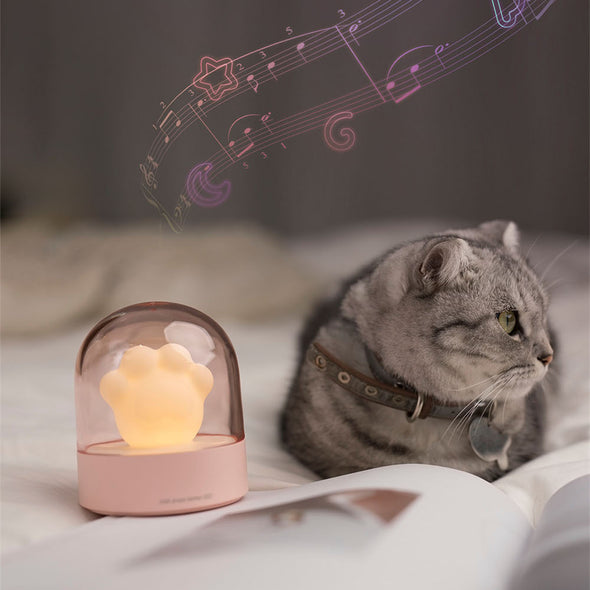 Cute Cat Claw USB Charging Light