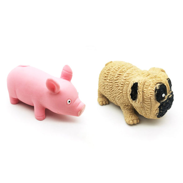 Decompression Pink Pig And Pug Toys