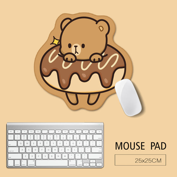 Cute Animal Mouse Pad