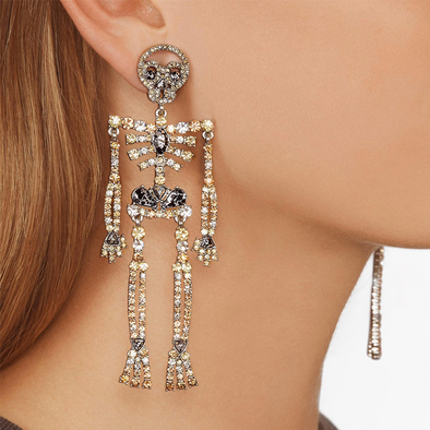 Skull Earrings Accessories
