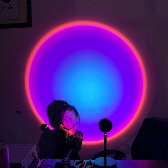 Colorful & Sunset Projector Lamp