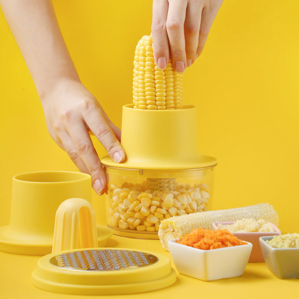 Multi-Function Corn Stripper