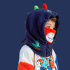 Kids Warm Hats Hood Scarves