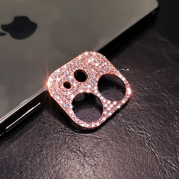 Bling Diamond Camera Lens Cover Protector for iPhone 11/12(Pre-sale)