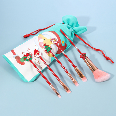 Christmas Limited Makeup Brush(5 PCS)