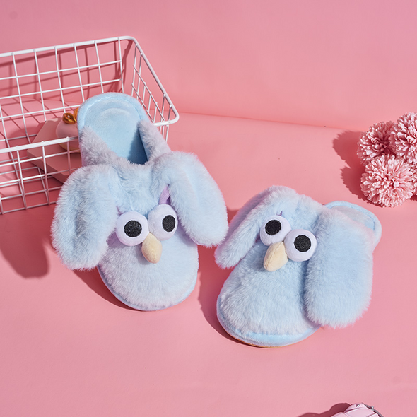 Cute Slippers With Movable Ears