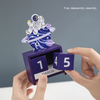 Wooden Desk Blocks Calendar Christmas countdown