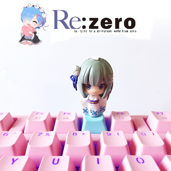 Re:Zero Cute Keyboard keyCaps(Support all Cherry switches)