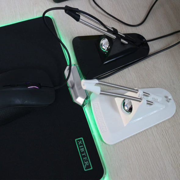 Flexible Mouse Bungee Mouse Cord Management Fixer
