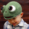 Kids' Cute knitting Frog Hat