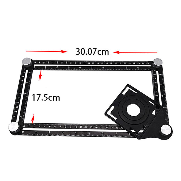Aluminum Alloy Multi-function Ruler