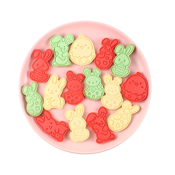 6 Pcs Easter Cookie Cutters Set