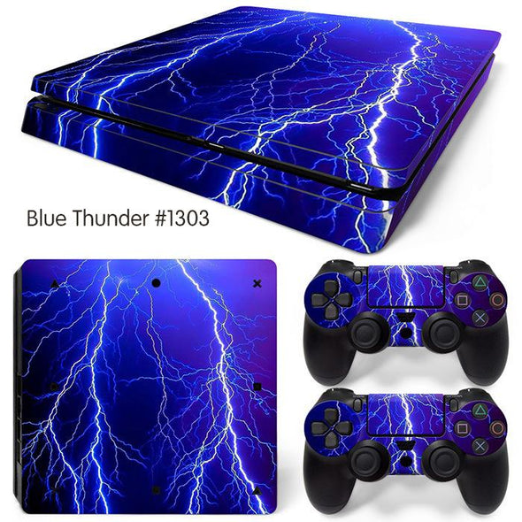 PS4 Slim Bundle Cover Sticker