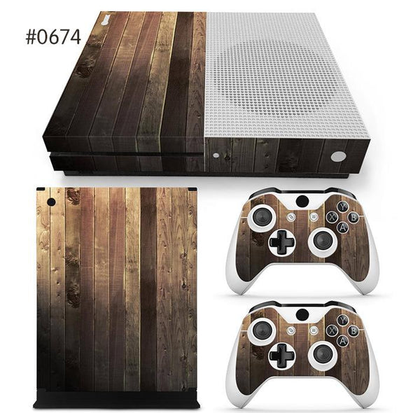Xbox One S Bundle Cover Sticker