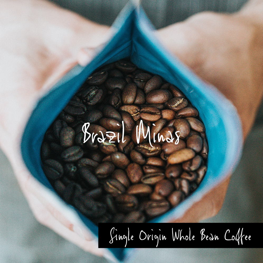 Brazil Minas, Single Origin Whole Bean
