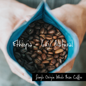 Ethiopia - Guji Natural, Single Origin Whole Bean