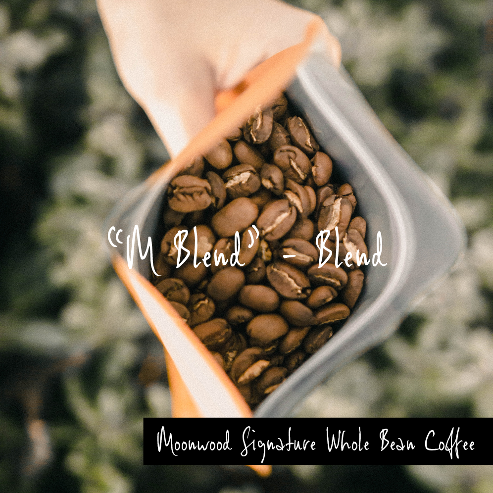 """M"" Blend, Whole Bean"