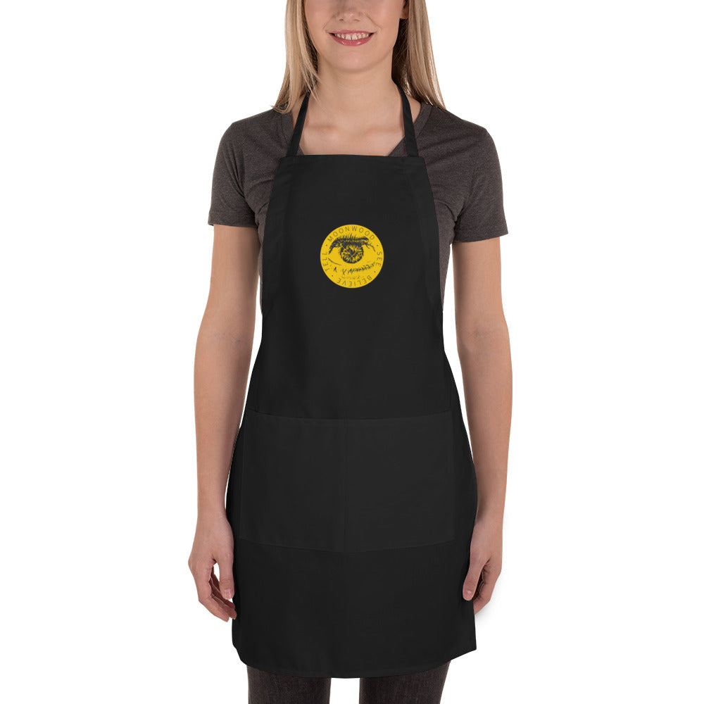 Moonwood Movement Embroidered Apron