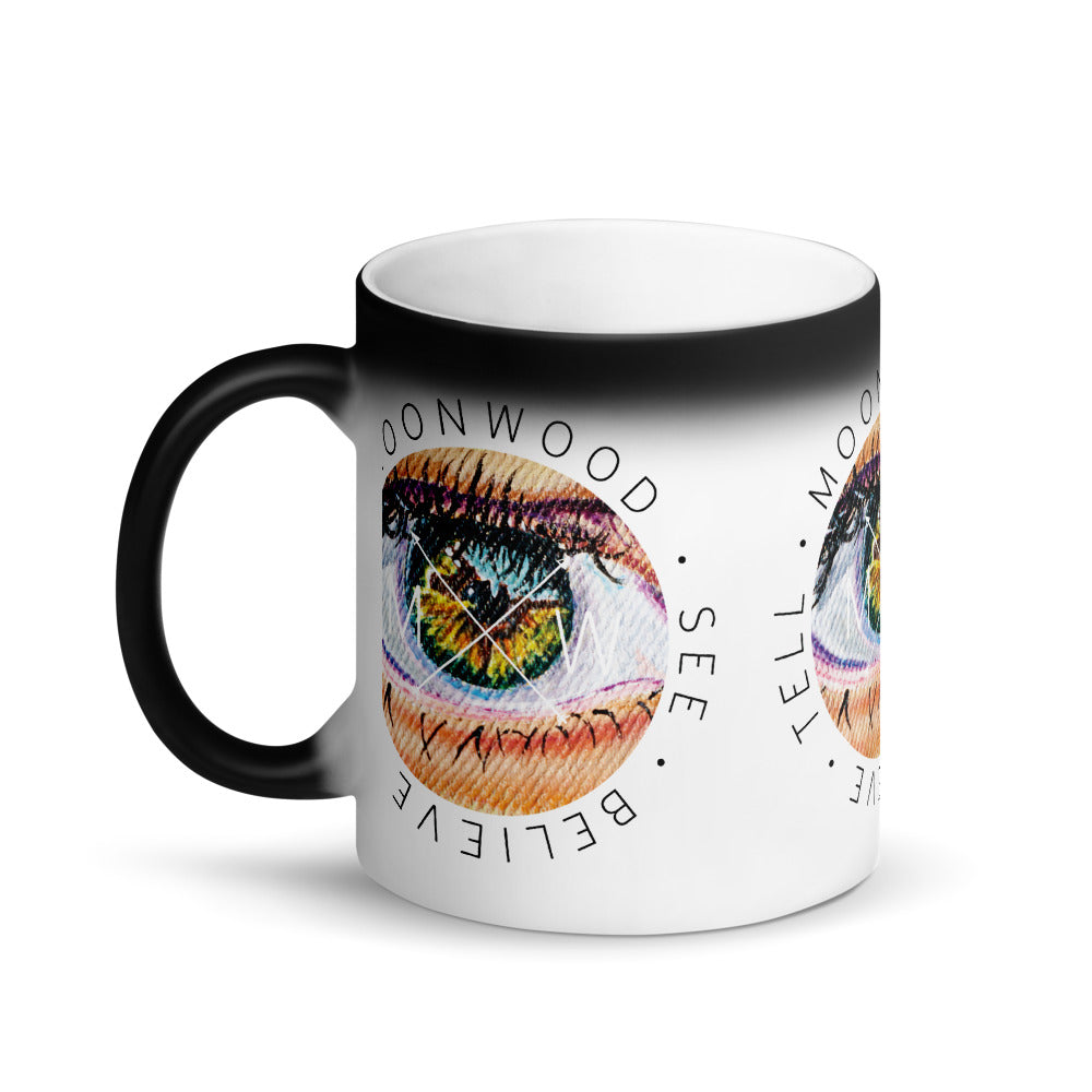 Moonwood Movement Matte Black Magic Mug