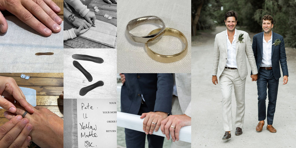Pete & Matt | Impression Wedding Bands