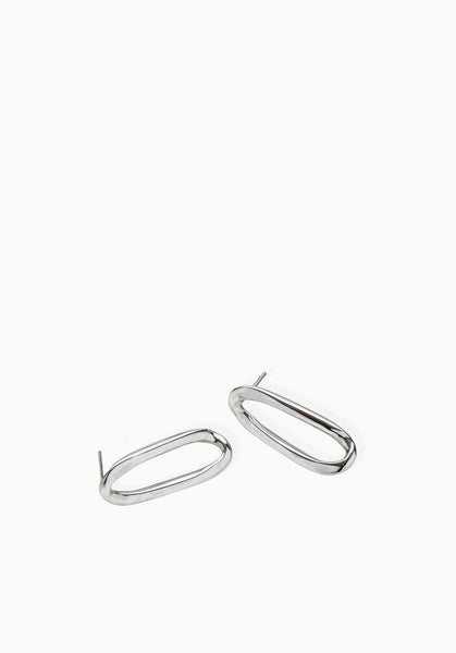 Link Earrings | Silver