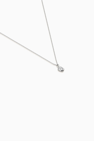 Ingot Necklace | Silver