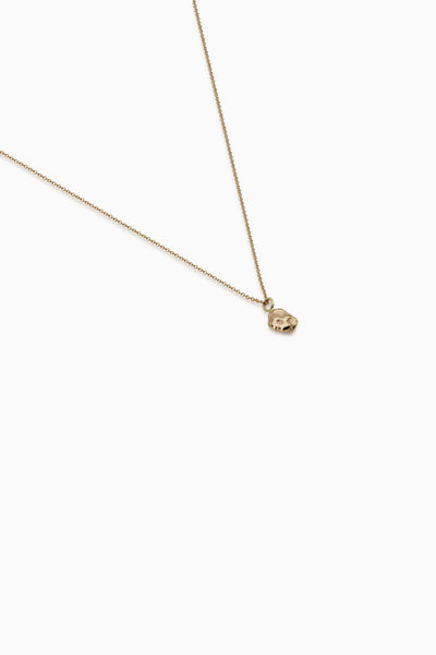Ingot Necklace | Gold