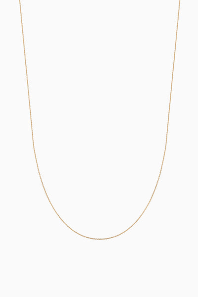 Delicate Chain | Solid 18k Yellow Gold