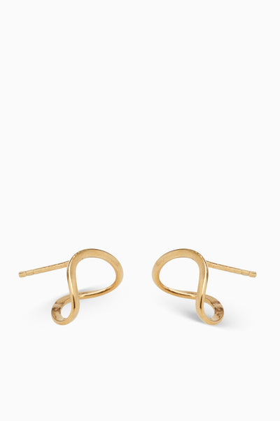 Figure Earrings | Gold