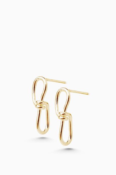 Infinity Earrings | Gold