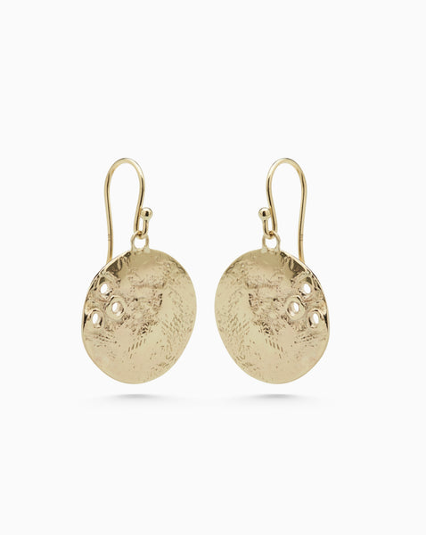 Shale Earrings 1.0 | Gold