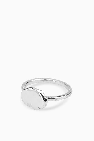 Ingot Ring | Silver