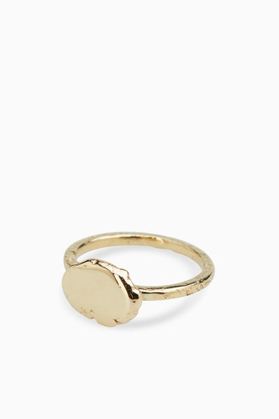 Ingot Ring | Gold
