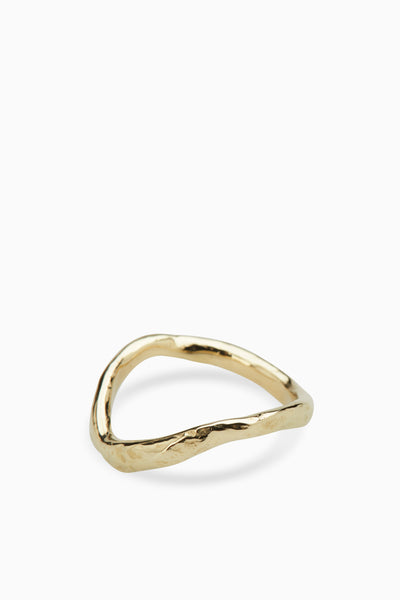 Circuit Ring | Gold