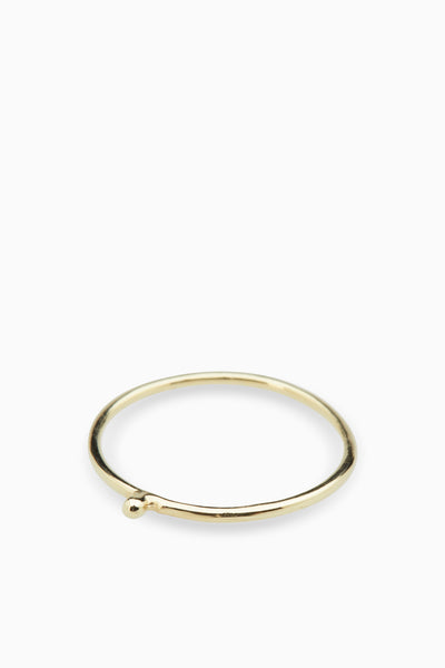 Tiny Nugget Stack Ring | Gold