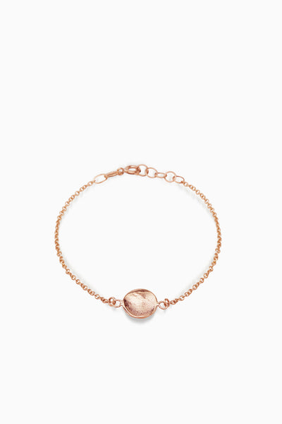 X Mini Fingerprint Bracelet | Rose Gold