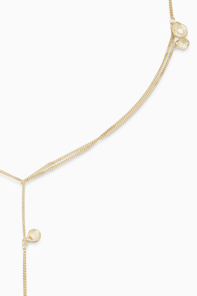 Charm Wrap Necklace | Gold