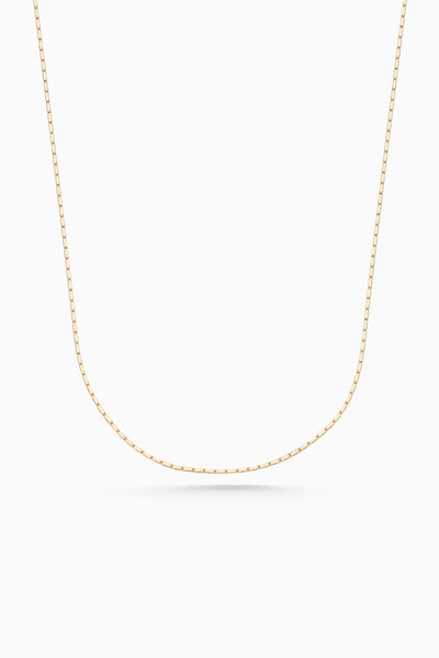 Square Fuse Necklace | Gold