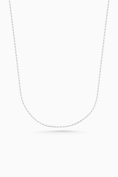 Square Fuse Necklace | Silver