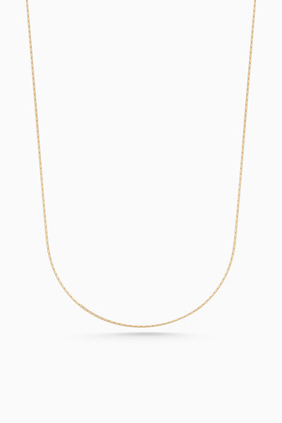 Round Fuse Necklace | Gold